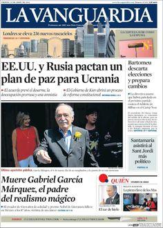 Muere Gabriel García Márquez, el padre del realismo mágico.
