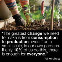 10% of use it's enough to change the world!