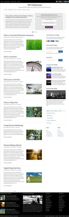 Clean and clutterless premium magazine WP theme from Solostream