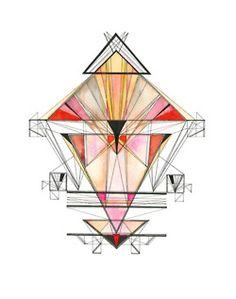 Lauren Bahr geometric prints
