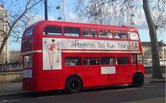 ダブルデッカーバスでのお洒落アフタヌーンティ!大人ガーリー ロンドン|Britain Park - 英国政府観光庁 -