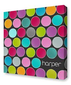 Look what I found on #zulily! Brite Paint Cans Personalized Canvas Wall Art #zulilyfinds