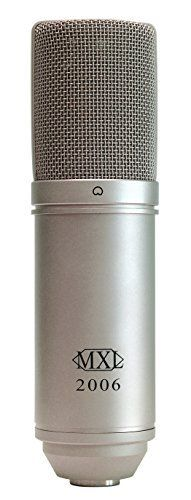 MXL 2006 Diaphragm Condenser Microphone Large (Silver) This is a great pick from the top selling products in Musical Instruments category in Canada. Click below to see its Availability and Price in YOUR country.