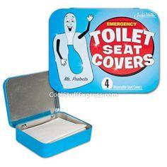 Merveilleux Emergency Toilet Seat Covers. Fantastic Idea!