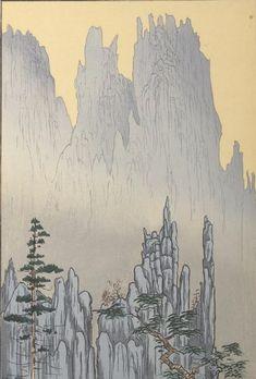 Comparison :: Cathedral Cliffs, Diamond Mountains, Korea