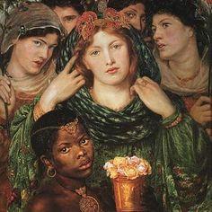 Dante Gabriel Rossetti, The Beloved, 1866.