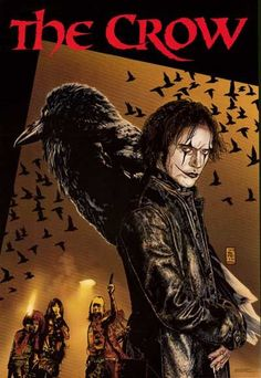 Eric Draven is The Crow! A great poster of art from James O'Barr's Kitchen Sink Comics book series. An original published in 1996. Fully licensed. Ships fast. 22x32 inches. Need Poster Mounts..?