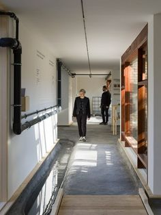 A reservoir containing collected rainwater is the source of the installation's water and connected to its interior via an exposed pipe that guides visitors through the pavilion. Wooden Ramp, Water Drip, Venice Biennale, Green Architecture, Walk Past, Waterworks, Growing Herbs, Water Pipes, Pavilion
