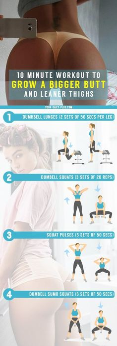 If you want to get thicker and bigger thighs this workout will absolutley give you results only if you take consisent action. It has 4 workouts all hitting the major muscle groups of the thigh like the quadriceps femoris which is the four-headed muscle Fitness Motivation, Fit Girl Motivation, Fitness Tips, Fitness Workouts, Exercise Workouts, Exercise Routines, Fitness Goals, Full Body Workout Program, Workout Programs