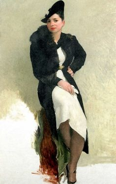 Marie by Alfred Giess. Oil on canvas, ca.1936.