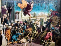 Best artists of Italian Renaissance - Tintoretto Renaissance Kunst, Renaissance Paintings, Italian Renaissance, Giorgio Vasari, Web Gallery Of Art, National Gallery Of Art, Italian Painters, Italian Artist, Venetian Painters