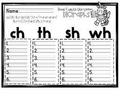 Free Digraphs Read and Write the Room {Freebie} Kindergarten Freebies, Kindergarten Language Arts, Homeschool Kindergarten, Kindergarten Literacy, Homeschooling, Preschool, Teaching Phonics, Phonics Activities, Teaching Reading