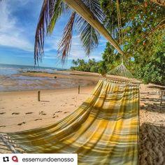 Use #letsflyawaybr e apareça no nosso feed! Obrigada @essemundoenosso por compartilhar essa imagem! Quem quer curtir esse linda praia da Península de Maraú na Bahia?  --------- Use #letsflyawaybr and show up in our feed! Thank you  @essemundoenosso for sharing this image! Who wants to enjoy this beautiful beach of the Peninsula of Maraú in Bahia? ---------- #repost #peninsulademarau #bahia #beach #praia #paradise #viagem #trip #travel #viaje #instatravel  #travelgram #igtravel…