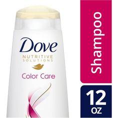 Dove Nutritive Solutions Color Care Shampoo, 12 oz, Multicolor
