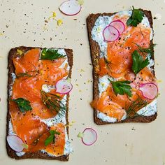 Do lunch like the Danes and make our smoked salmon smørrebrød.