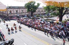 Tanto la noche del Grito de Independencia como en el Desfile Cívico Militar, celebrados ambos en el Primer Cuadro de la capital michoacana, se reportó saldo blanco, informó el coordinador ...