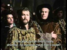 Shakespeares Richard II (Part 1 of 21) (Act 1, Scene 1)