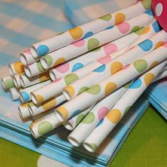 Party Supplies and wholesale manufacturer of printed paper straws, Favor Bags and other modern trendy paper party goods