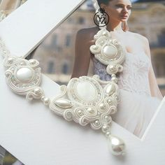 Shibori, Soutache Jewelry, Textile Jewelry, Christmas Holiday, Jewelery, Beading, Braids, Necklaces, Decorations