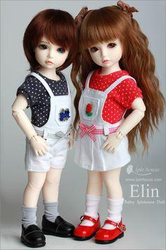 BJD Shop iplehouse elin bjd [iplehouse girl elin - PS: Please choose the makeup type for your doll. Beautiful Barbie Dolls, Pretty Dolls, New Dolls, Ooak Dolls, Little Baby Girl, Little Babies, Cute Cartoon Girl, Cute Baby Dolls, Picasa Web Albums