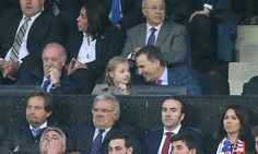 King Felipe of Spain enjoyed some father-daughter bonding time with his eldest child, Princess Leonor, when the duo attended a Athletico de Madrid football game together.