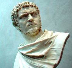 Lucius Septimius Bassianus (April 4, 188 – April 8, 217), commonly known as Caracalla, was a Black Roman Emperor who ruled from 211 to 217.   Caracalla was the eldest son of Septimius Severus, the first black African-born Emperor of Rome. But before Septimius Severus, there had been other Roman-born black Emperors of Rome.