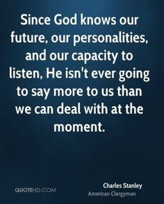 Charles Stanley Quotes, Quotations, Phrases, Verses and Sayings. Faith Sayings, Faith Quotes, Words Quotes, Wise Words, Christian Life, Christian Quotes, Charles Stanley Quotes, Meaningful Quotes, Inspirational Quotes