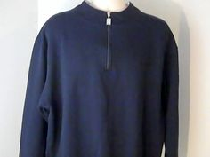 CARNIVAL Cruise Line Mens 2 XL Blue White Sweat Shirt  Polyester Cotton #CARNIVAL #Sweatshirt