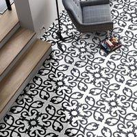 Mosaic Tiles, Wall Tiles, Moroccan Tiles, Moroccan Lanterns, Turkish Tiles, Portuguese Tiles, Moroccan Decor, Black And White Tiles, Black White