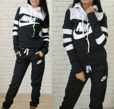 jumpsuit nike stripes striped sweater hoodie pants tracksuit sportswear sports pants earphones