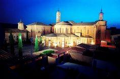 Una maravilla... el Monasterio de Fitero, el primero que la Orden del Císter construyó en la Península Ibérica ¿Te apuntas a vistarlo? (Foto: @TurismoFitero) #navarra #arte #historia