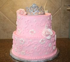 Princess Cake By KDuncan51 on CakeCentral.com