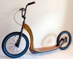 Home - holz-bike - holz-bike. Wooden Scooter, Trike Scooter, Trike Bicycle, Kids Scooter, Scooter Design, Bike Design, Velo Cargo, Drift Trike, Balance Bike