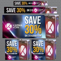 Create Karma Koin Banners by Jellyfish®