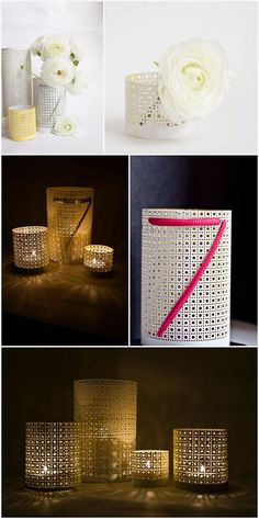 – perforated metal sheets or upcycle them from used radiator covers (found in places like here) – tin snips + fine sand paper for metal – 20 or 22 gauge wire – flat pliers – spray paint More info and instructions about this great tutorial you can find in the source url - above the […]