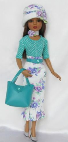 """Lovely to Look at for 16"""" Ellowyne,  by ssdesigns via eBay,  SOLD 2/15/14  $54.99"""