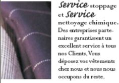 SERVICE de stoppage SERVICE de nettoyage