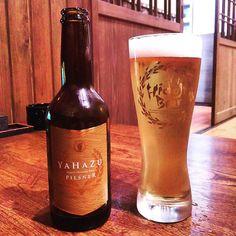 宮崎ひでじビールの YAHAZU PILSNER. #beer #craftbeer #miyazaki #宮崎