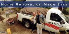 Planning a home renovation? Get your materials transported with ease in a U-Haul pickup truck! Tap through to reserve one today! | Decorating your Home