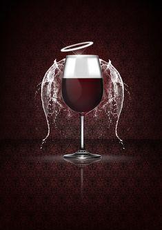 Angel Wine - Graphic