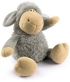 Other Toys - Nici Sheep Plush Toy (Grey, was sold for on 4 Jul at by Lazyant in Pretoria / Tshwane Cuddles And Snuggles, Cuddling, Felt Owls, Felt Animals, Novelty Toys, Animal Projects, Sheep, Kids Fashion, Plush