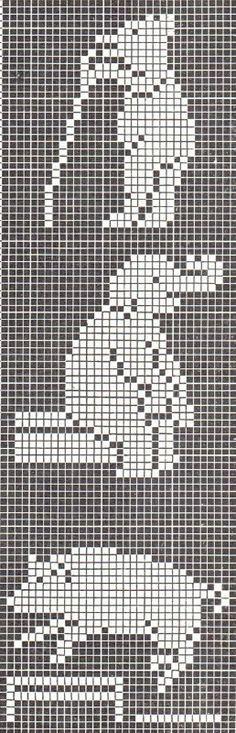 tapestry crochet animals - Buscar con Google