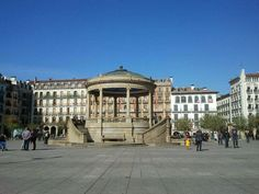 Plaza del Castillo #Pamplona #Navarra