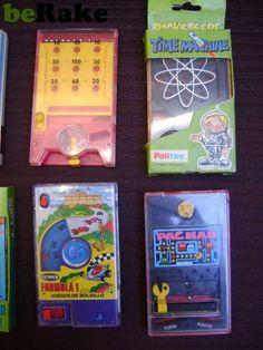 Vendo 9 juegos de bosillo geyper(pocketeers)años 80....