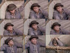 Little Joe - Dream Riders - Poor Joe's face when he realizes Hoss has set the balloon afloat.