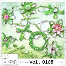 Vol. 0168 - Spring Dots Ribbons Mix  by Doudou's Design  #CUdigitals cudigitals.com cu commercial digital scrap #digiscrap scrapbook graphics