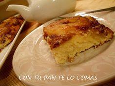 Con tu pan te lo comas: TARTA VOLCADA DE PIÑA
