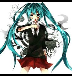 Hatsune rolling girl Miku