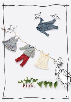 Anita Calero For Baby Gap Peter Rabbit Limited Edition
