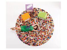 Dywan Circle I kolorowy — Dywany Kare Design — sfmeble.pl